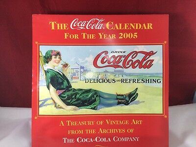 2005 Coca Cola Coke Calendar USA