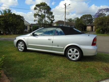 2003 Holden Astra Bertone Automatic Convertible. Low kms on motor