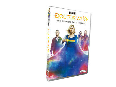 Doctor Who Season 12 (DVD,3-Disc) Free shipping