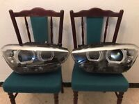 Pair of NEW Right hand drive headlights BMW 1er F20 F21 LED 2017 RHD COMPLETE
