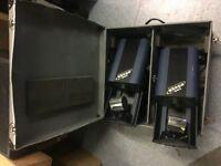 Acme Rover Barrell Scan x 2 including flight case
