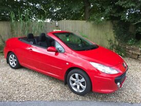 PEUGEOT 307 S COUPE CABRIOLET (red) 2005