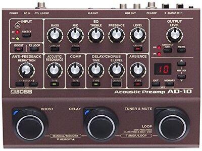Boss / AD-10 Acoustic Preamp Boss acoustic preamp from japan