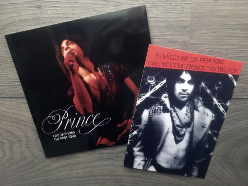 Prince live 1979-1980 : The First Tour - NEW BOOK + Le Palace 81 invitation NEW