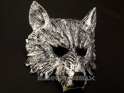 Mask For Boys (Animal Masquerade Wolf mask for Halloween Decoration mens boys mask for)