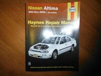 Nissan Altima 1993-2004 Shop Manual