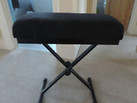 Piano stool - home use or for gigging