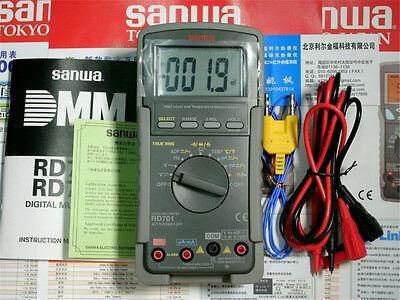 Sanwa New Rd701 Ac True Rms Digital Multimeters Multifunctional Display 4000