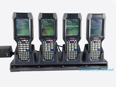 Lot Of 4x Intermec Ck3 Ck3b Ck3b20n00e100 Wm6.1 1d2d Laser Barcode Scanner