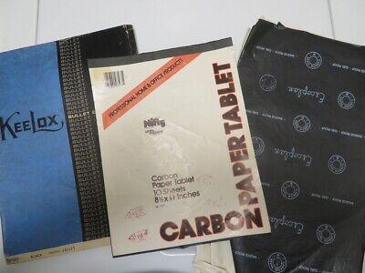 Vintage Lot Carbon Paper Typewriter Keelox Nifty Escoplan Letter Legal 165 Pcs