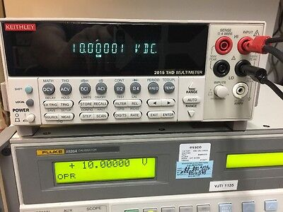 Keithley 2015 Total Harmonic Distortion Multimeter 6 5 Digit      Calibrated