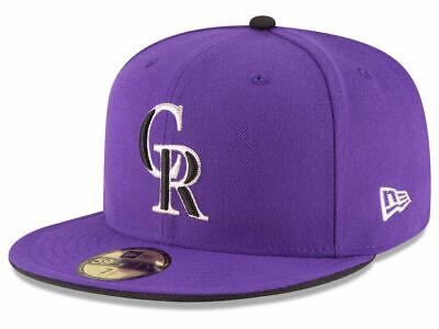 Colorado Rockies Hat (New Era Colorado Rockies ALT 2 59Fifty Fitted Hat (Purple) MLB)