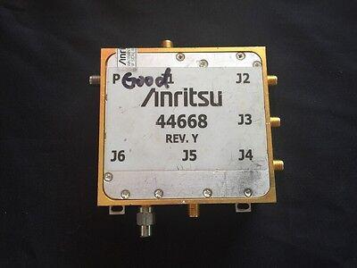 Anritsu Port 3 Module 44668 Vector Network Measurement System Ms462xx