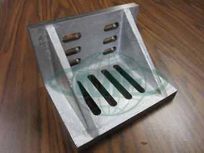 Slotted Angle Plate Webbed End 6x5x4-12 High Tensil Cast Iron Accur Ground