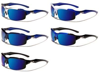 Arctic Blue Designer Sport Sonnenbrille 100% Uva Gewickelt Herren AB10