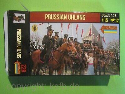 1:72 Strelets #228 Napoleon Preußen Ulanen Kavallerie Prussian Uhlans + Frau