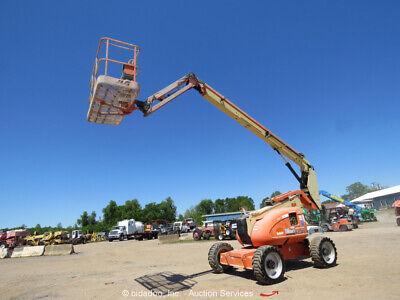 2011 Jlg 600aj 60 4wd Diesel Telescopic Boom Man Lift Skypower Bidadoo -repair