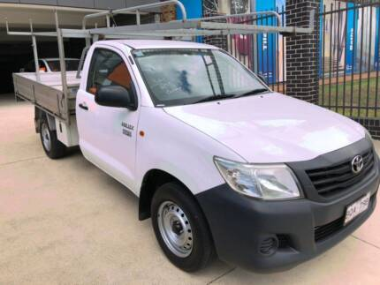 TOYOTA HILUX 2011 WORKMATE UTE,1 OWNER,LOG BOOKS Wentworthville Parramatta Area Preview