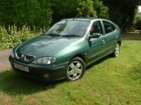 Renault Megane 1.6 16v Fidji 5dr - Very low mileage, excellent condition throughout ,fsh, 2 owners