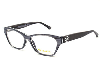 41d311713d68 Tory Burch Women's Eyeglasses TY 2053 1418 Gray Horn Full Rim Frame 53[]15  135