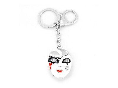 Masquerade Mask Pendant Key Ring Keychain ~ New ~ Gift Idea!