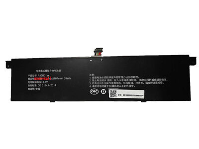"39Wh 7.6v R13B01W Battery for Xiaomi Mi Air 13.3"" Series Laptop R13B02W 5107mAh"