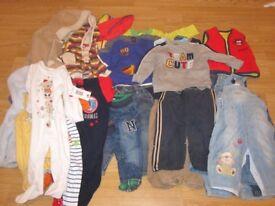 Boys Clothes Bundle 9-12 months.