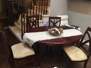 Dining Table /dinette with 4 chairs