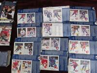Kraft Dinner Hockey Cards - 1990 + 1995
