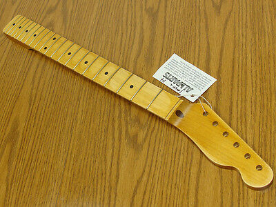New Fender Lic Aged Relic Tinted Maple Finish Tele Neck Telecaster Tmvf C