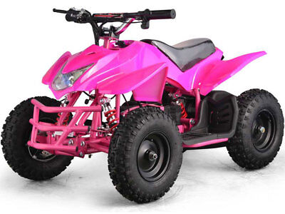 Four Wheeler Kids Boys Girls Pink Mini Quad ATV Dirt Bike Electric Battery 24V for sale  Ontario