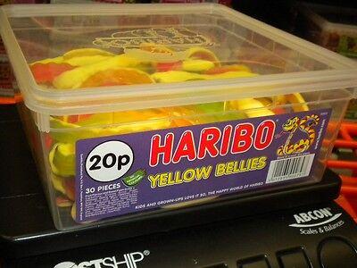 Haribo 30 Gelb Bäuche 1200g UK Süßigkeiten Party Halloween Geburtstag Etc. & ()