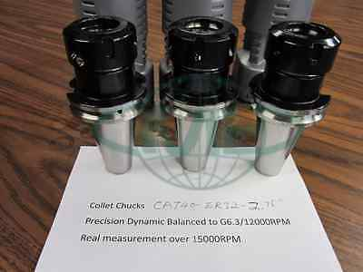 6 Cat40-er32-2.76 Collet Chucks Balanced To G6.315000rpm  Tool Holder Set