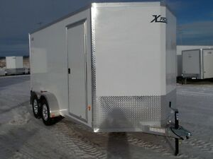 2017 ALCOM Xpress 7x14 Enclosed Cargo Trailer