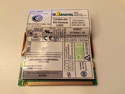 AMBIT J07M041.00 Modem Card TTDAMJ000-632