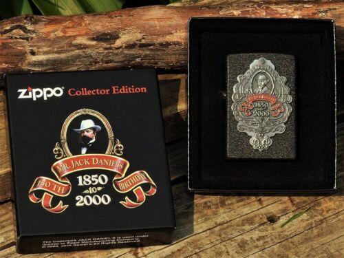Zippo Lighter - Jack Daniels 150th Birthday Anniversary - Limited Edition - Rare