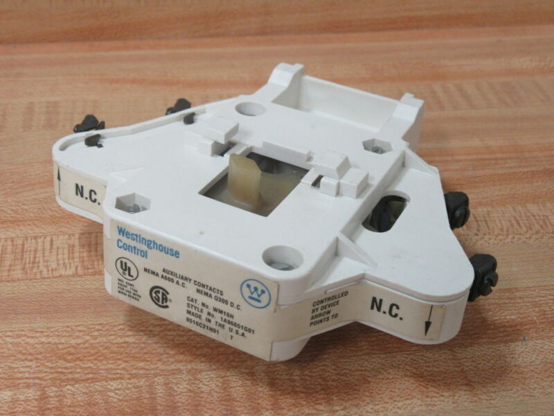 Westinghouse WH16H Interlock Auxiliary Contact 1A96651G01