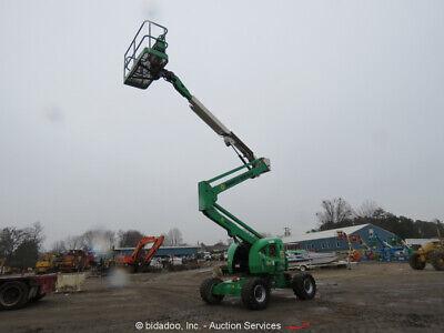 2014 Jlg 450aj 45 4wd Df Articulating Boom Lift Skypower Gen 4x4 Bidadoo