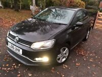 2016 Volkswagen Polo 1.2 TSI BlueMotion Tech SE Hatchback DSG 5dr (start/stop) immaculate condition