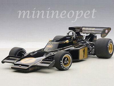 AUTOart 87327 LOTUS 72E 1973 EMERSON FITTIPALDI #1 1/18 MODEL CAR BLACK