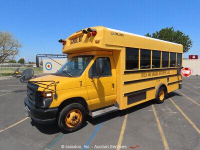 2009 Ford E-450 Collins 25 Passenger 6.0L Diesel School Bus bidadoo