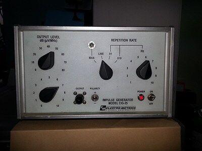 Electro-metrics Impulse Generator Model Cig-25 Perfect Condition