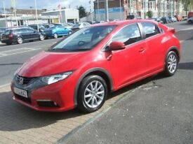 Honda Civic Manual Petrol I-VTEC ES Red 2012 28000 (red) 2012