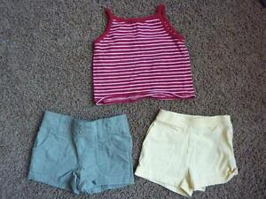 Shorts & Tank Top - Sizes 6-12 Months
