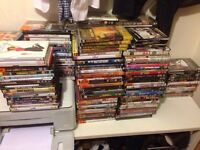 Job Lot 200+ Mixed DVDs, Boxsets, Blurays FREE Collection - Movie List below