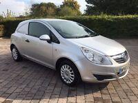 2011 Vauxhall Corsa Van 1.3 CDTi ecoFLEX 3dr 16v, REAR PARKING SENSORS, NO VAT!