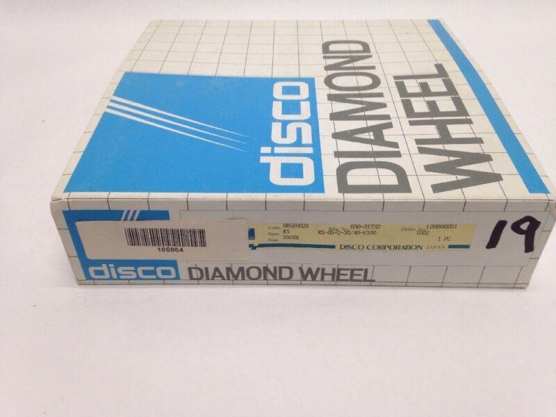 DISCO GRINDING WHEEL 30/40 INFEED CREEP DIAMOND BACKGRIND DRSE0020 RA-05-2-30/40