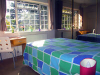 Nice bright dbl room Hammersmith near park - available for 1 female