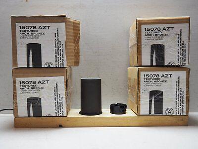 Set of 4 Kichler Landscape Lighting 15078 AZT Under Rail Deck Lights Bronze NEW - Kichler Set