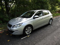 PEUGEOT 308 LIKE NEW WITH LOW MILEAGE
